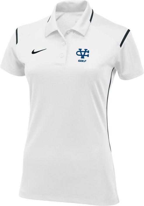 c845c751 Women's Nike Gameday Polo, White: sportpacks.com